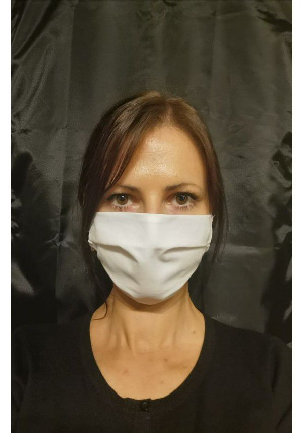 Reusable mask 2 layered cotton fabric