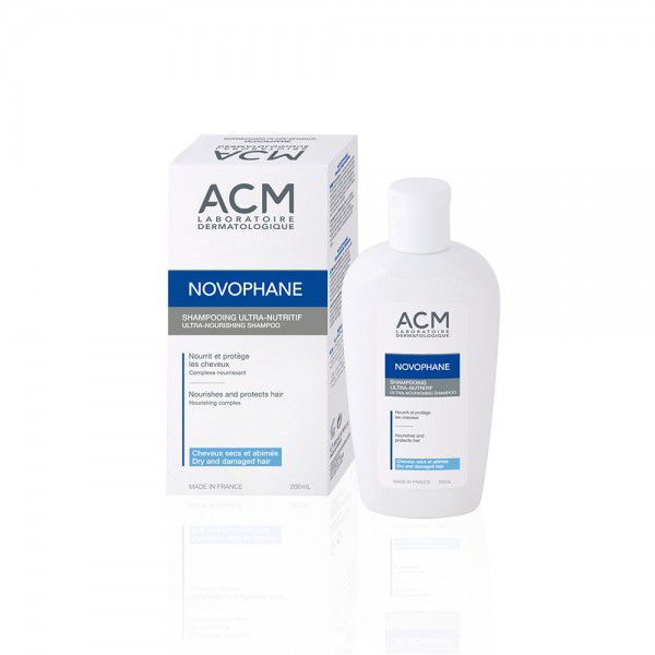 Novophane Ultra-Nutritive šampūns BBD 07.21
