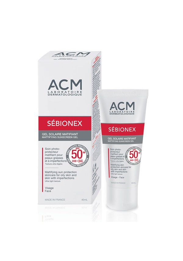 Sebionex matistav päikesekaitse rasusele nahale, SPF50+