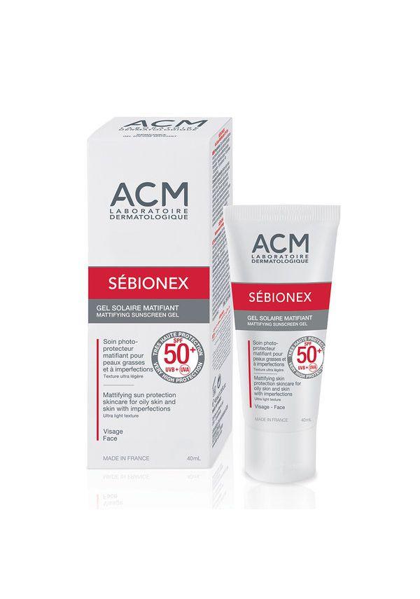 Sebionex mattifying gel SPF50+