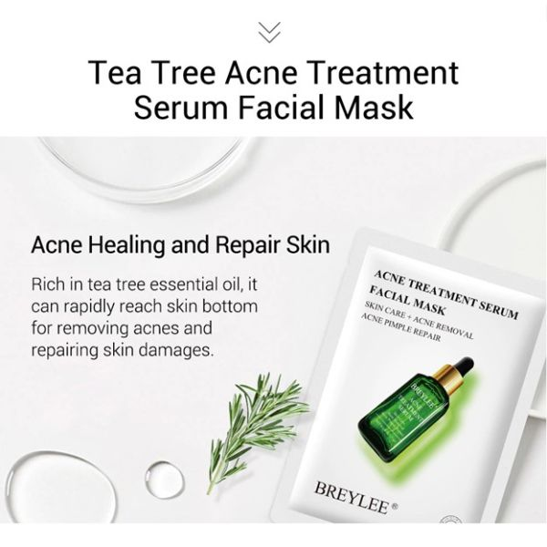 Breylee mask with acne treatment serum