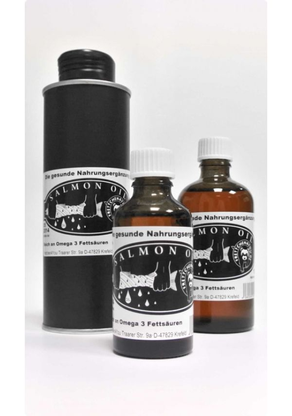 Frettchen4You Salmon Oil 100ml Bottle