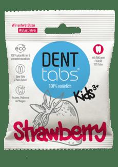Denttabs hambapuhastustabletid fluoriidiga - maasikamaitseline