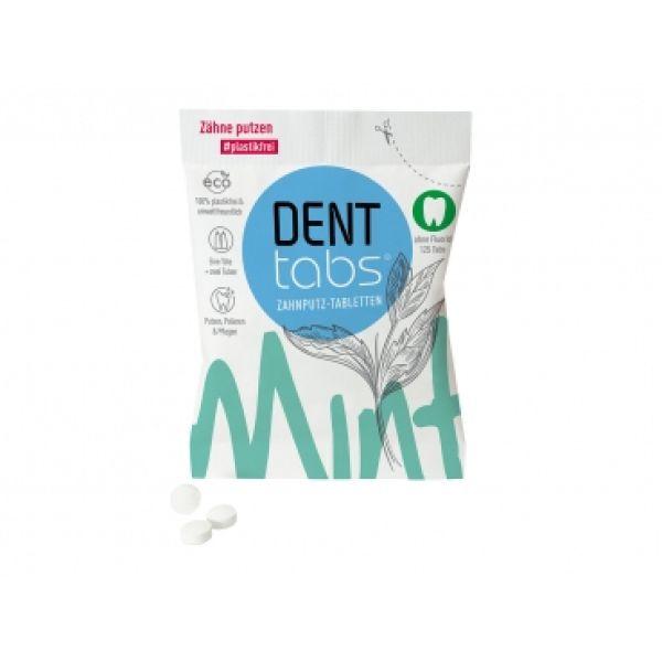 Таблетки для чистки зубов Denttabs без фтора
