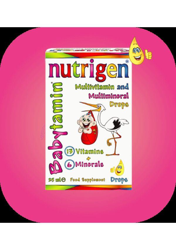 Nutrigen Babytamin vitamin drops